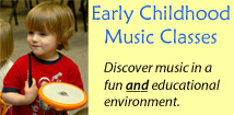 Greater Richmond School of Music Early Childhood Music Programs