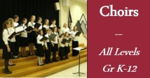 GRSM Choirs - All Levels Gr K-12