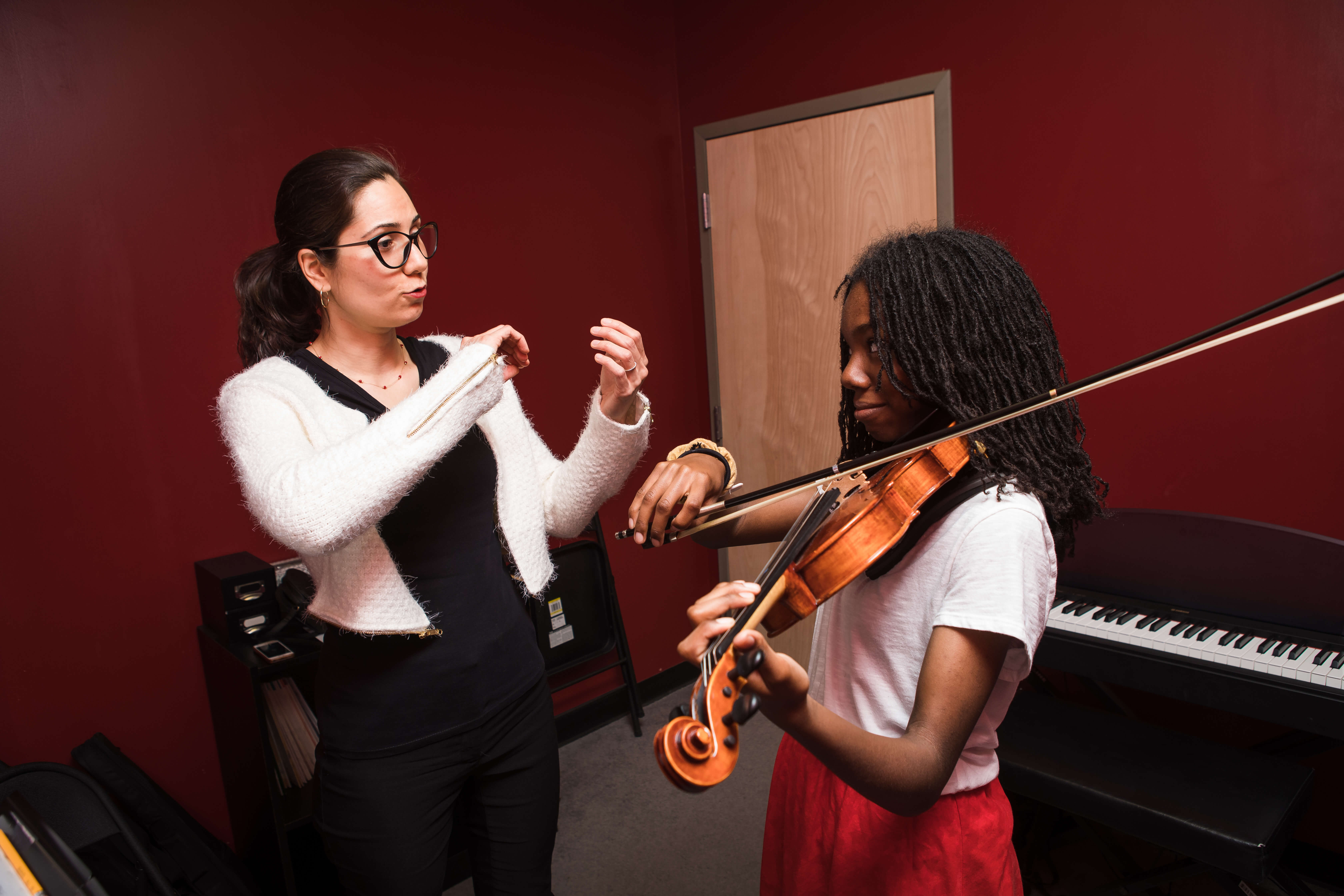 Violin lessons for StM page